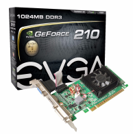 TARJ. VIDEO PCI EXP. 1GB DDR3 GT210 HDMI/DVI/VGA MSI