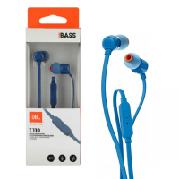 AUDIFONO CON MIC. IN-EAR T110 AZUL JBL
