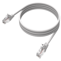 CABLE PATCH CORD CAT.5E 2,0M PTO/PTO, GRIS/AB360NXT12 NEXXT